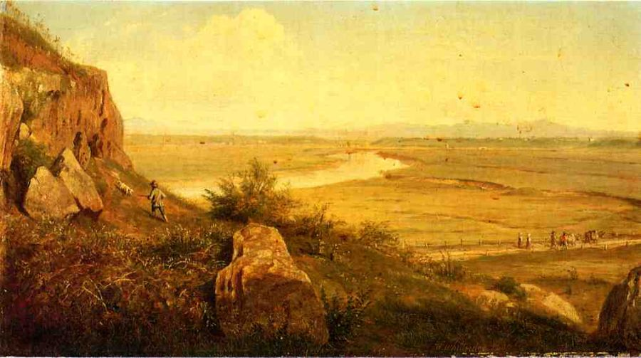 A Hunter in a Landscape